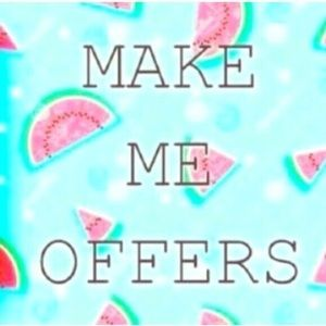 I USUALLY ACCEPT ALL OFFERS!